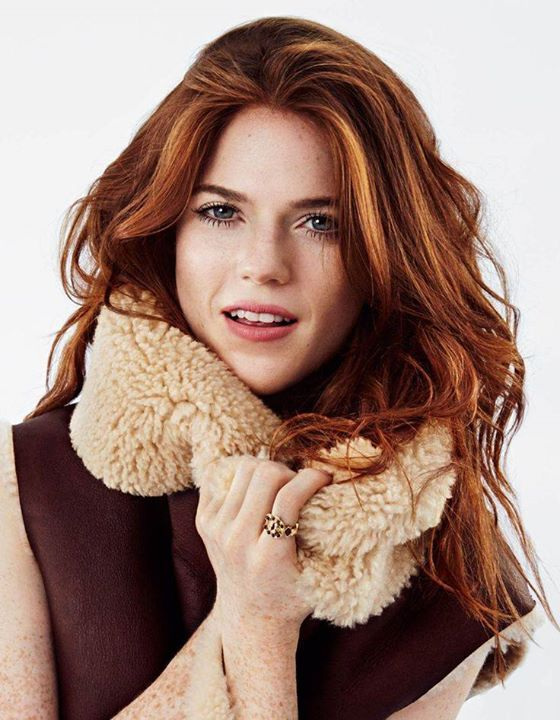 Rose Leslie inspiration for Zoey Quinlin