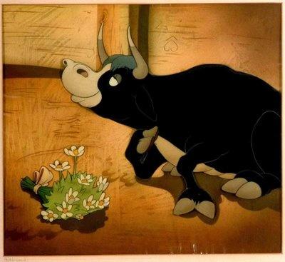Oscar de Melhor Curta-Metragem de Animação: Ferdinando, o Touro (1939) 7º a ganhar o prêmio. Produzido pela Walt Disney Productions