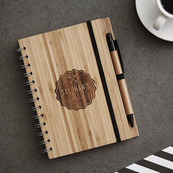Hey, I found this really awesome Etsy listing at https://www.etsy.com/listing/203020131/personalised-badge-wooden-notebook-set
