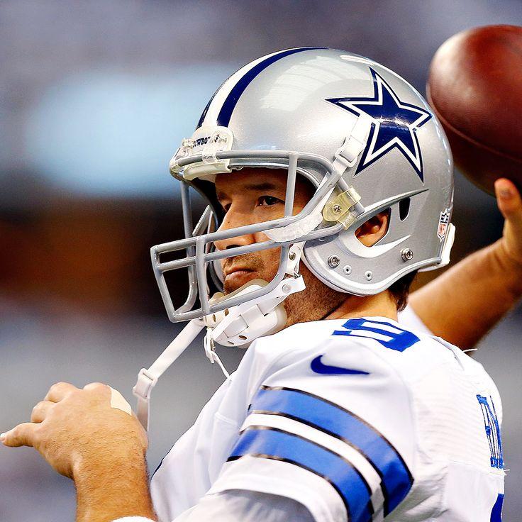 Tony Romo returns to offseason mix