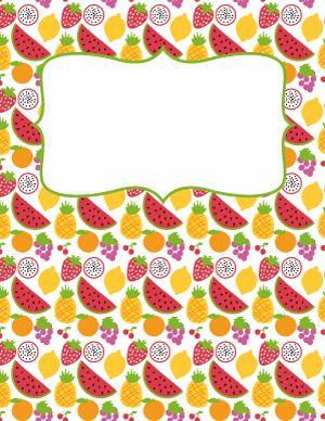 Fruit Binder Cover