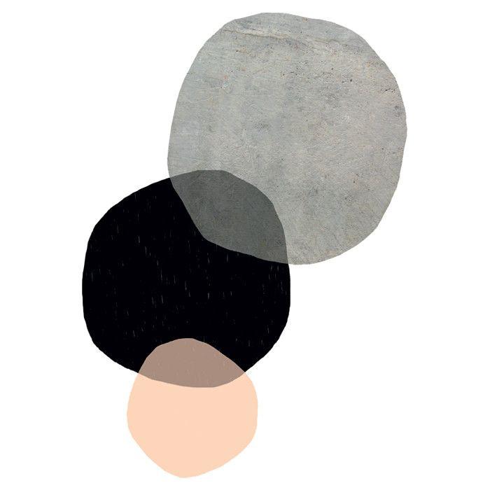 """Poster """"In Circles"""" von Seventy Tree, Grafikdruck"""