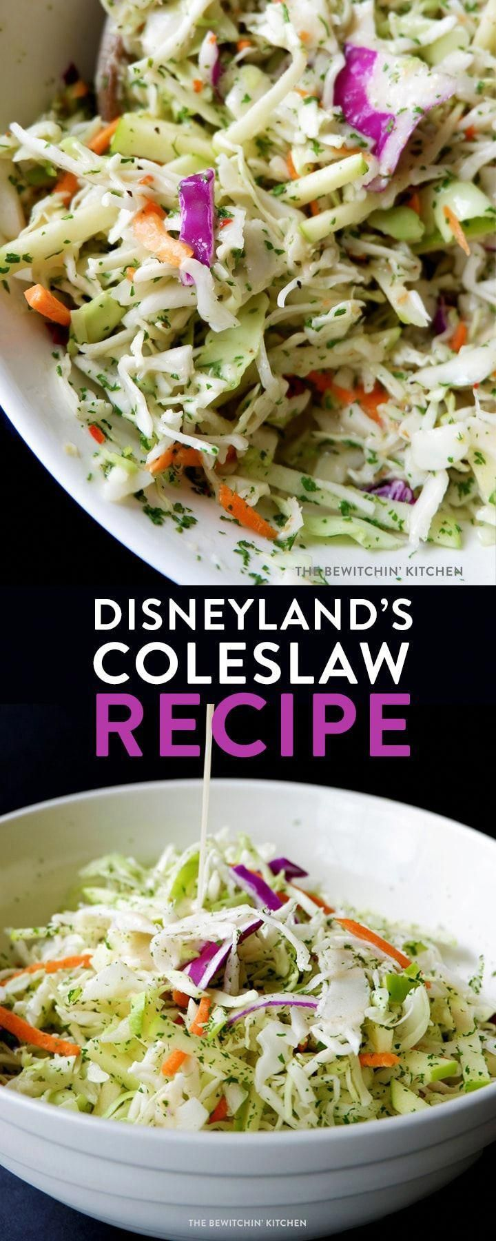 Disneyland's coleslaw recipe is a summer BBQ hit. A