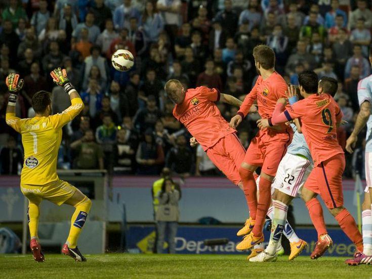 Secuencia del remate a gol de Mathieu.