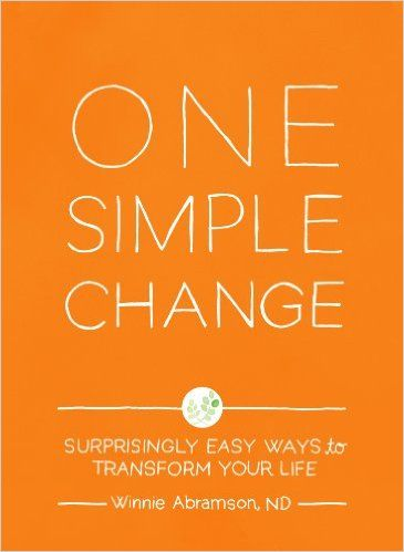 Kat picked up One Simple Change: Surprisingly Easy Ways to Transform Your Life