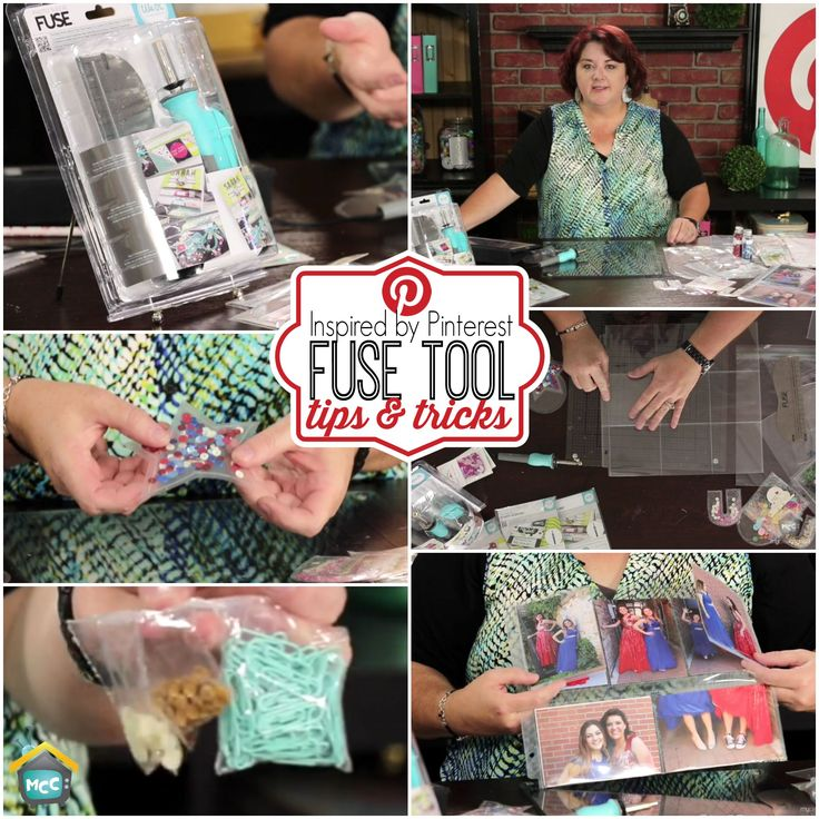 Watch Lori Allred today on Inspired by Pinterest as she tests out the new We R Memory Keepers Photo Sleeve Fuse Tool and shares some of her favorite pins from Pinterest on how you can use this fun heat tool to create shakers, custom bags and more.