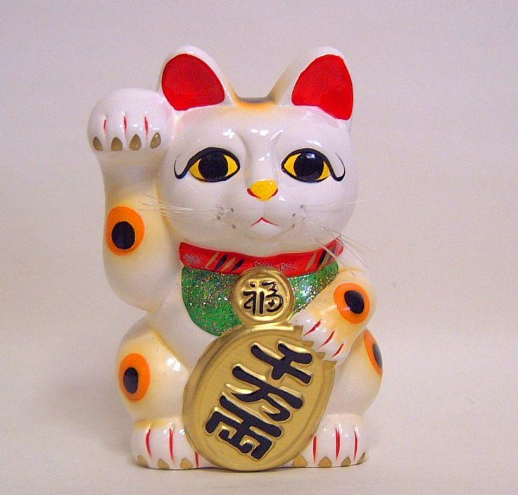Engimono, los amuletos japoneses maneki neko