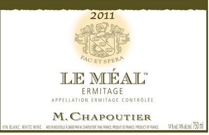 2011 M. Chapoutier Ermitage Le Méal