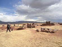 Pumapunku - Quechua ruins in Bolivia near lake titicaca. Initial construction began 536 AD
