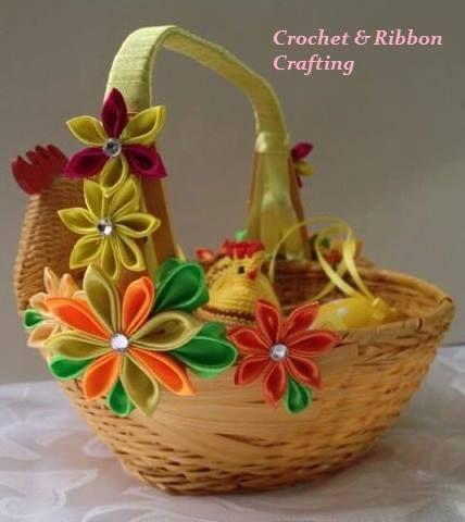 koszyki Wielkanocne w Crochet & Ribbon Crafting na DaWanda.com