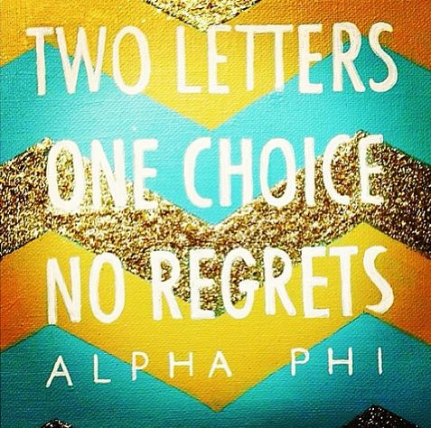 CUTE idea. little crafting. OBVIOUSLY change to tri delta