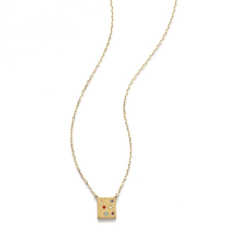 ANNI LU - 4005 // ANNI LU // HEART LINE // Butterfly 14k Gold Necklace