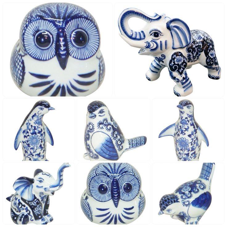 Corujinha & Amigos! Objetos de porcelana www.donaxica.com.br