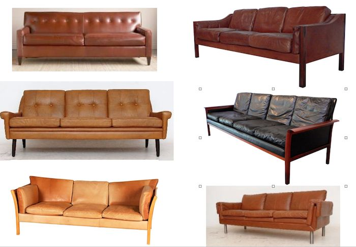 leather sofa roundup on the blog today. Some of my favorites. www.stylebyemilyhenderson.comLeather Couch