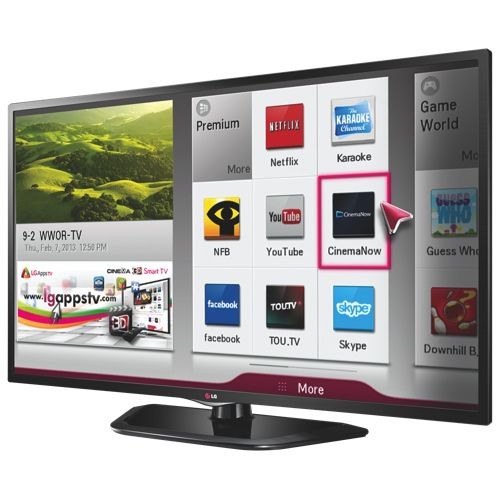 Téléviseur intelligent DEL 1080p 60 Hz 39 po de LG (39LN5700)                                                                                       - En ligne seulement  #BBYSciencessociales