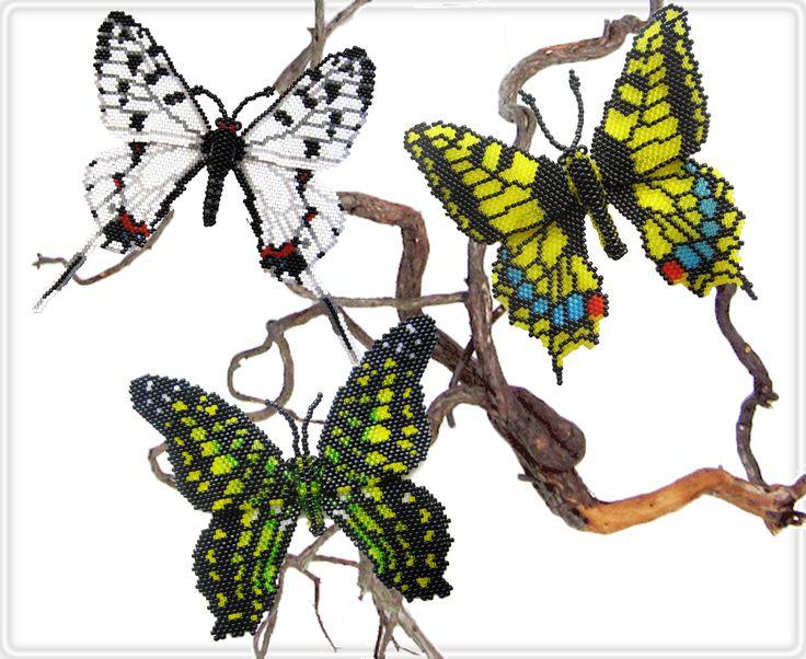 Бабочки из бисера. Автор Анна Масальская