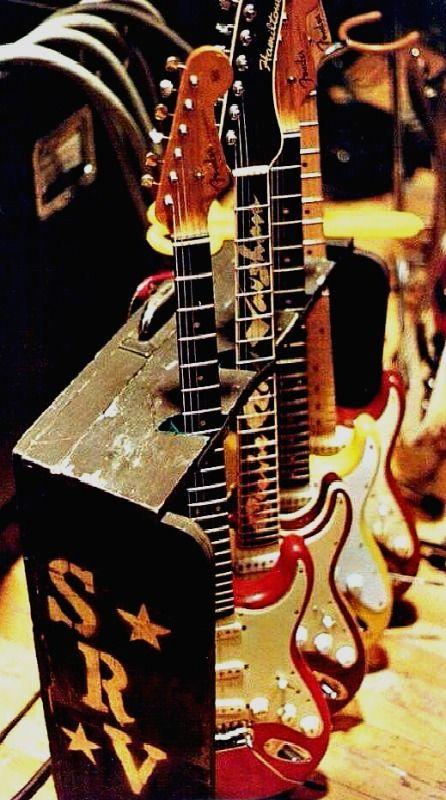 SRV ❤ The great SRV guitars