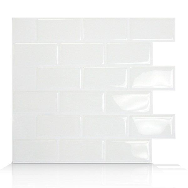 Shop Smart Tiles  SM102 Subway Self Adhesive Wall Tile at Lowe's Canada. Find our selection of backsplashes & wall tile at the lowest price guaranteed with price match + 10% off.