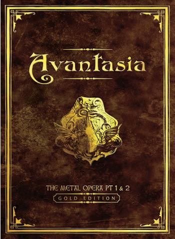 "La Metal Opera firmata da Tobias Sammets torna in un' edizione da collezione: ""The Metal Opera part I & II – gold edition"" contenente I primi due album degli Avantasia in oro, un booklet guida con immagini inedite e commenti del maestro. Include 2 tracce audio e un video clip bonus."