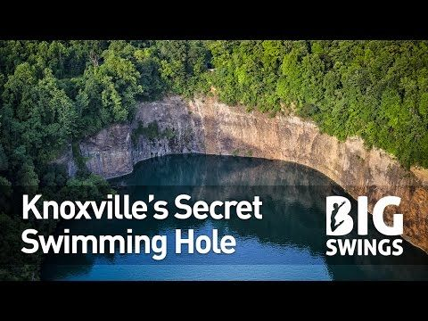 Knoxville's Secret Swimming Hole – Big Swings