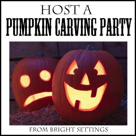 Host A Pumpkin Carving Party Pumpkin Carving Party Pumpkin Carving Pumpkin Decorating Party