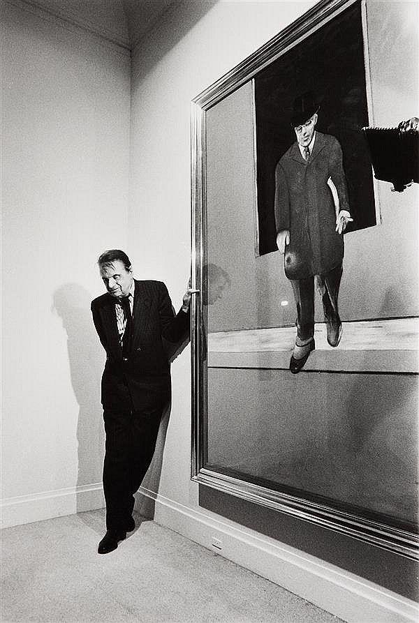 Francis Bacon à la Galerie Lelong [1987 Michel Giniès].