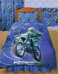 dirt bike bedroom ideas   Check out: MotoXDesigns Motocross Bedroom Accessories