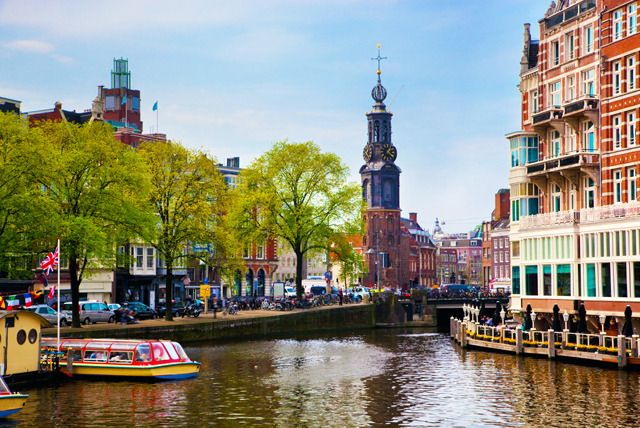 A city of contrasts: whether you want tulips and idyllic canals or plenty of partying, the eternally popular city of Amsterdam is sure to deliver...