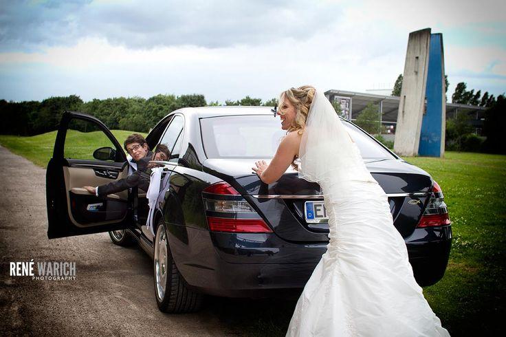 Wer liebt, der schiebt! Hochzeit Henrichshütte, Hattingen