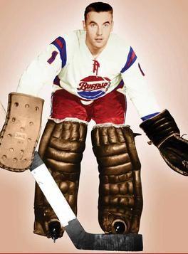 Denis Dejordy with AHL Buffalo. 1957/8, 1960/5