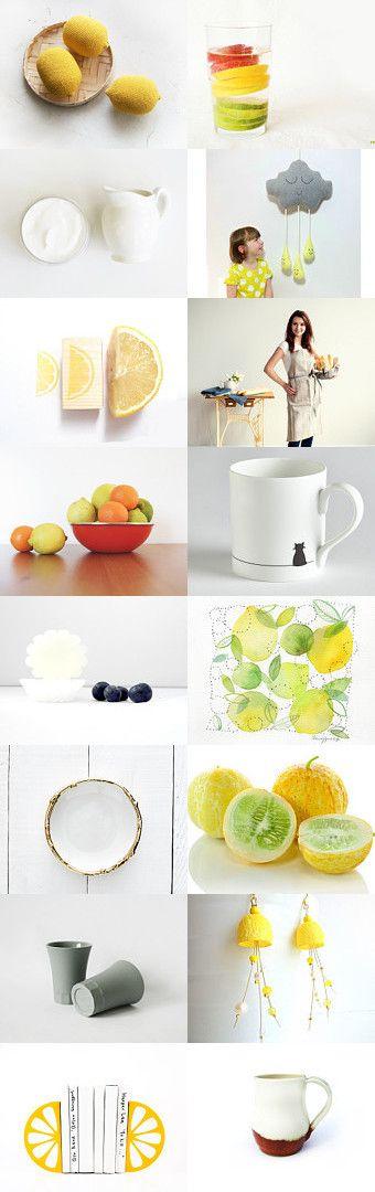 lemon by nadamlada on Etsy--Pinned with TreasuryPin.com