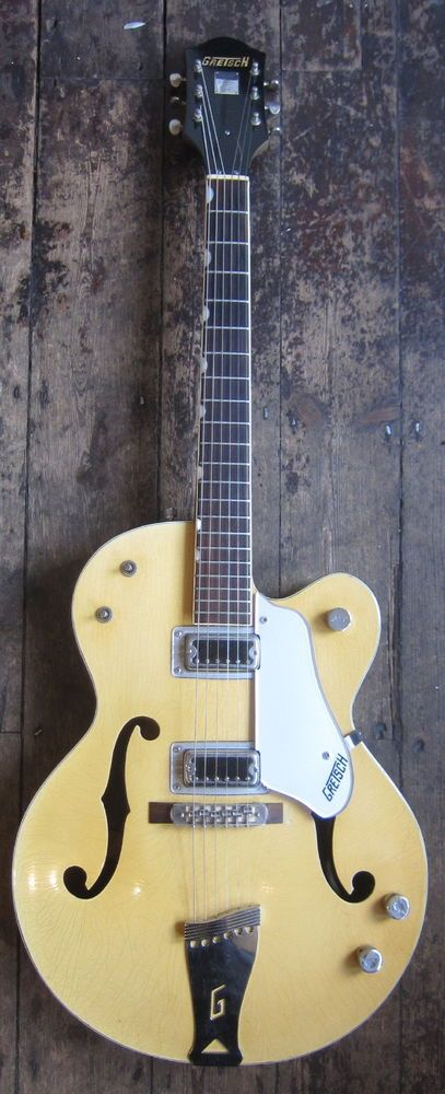 GRETSCH - DOUBLE ANNIVERSARY - TWO TONE COPPER/BAMBOO- RARE VINTAGE GRETSCH 6118 #Gretsch