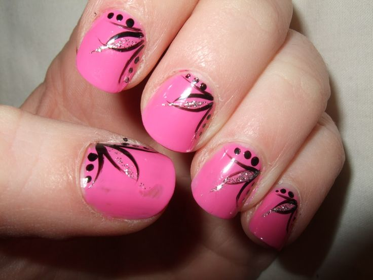 Nails Design, Pink Nails, Shorts Nails, Nails Ideas, Beach Nails