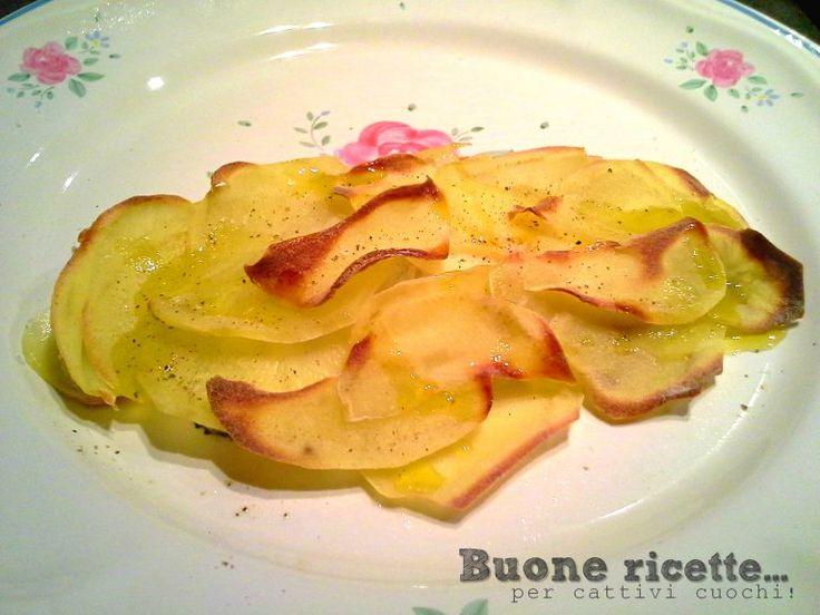 Filetto d'orata in crosta di patate
