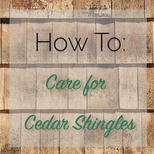Best How To Care For Cedar Shingles Cedar Shingles Cedar Shingle Roof Installing Cedar Shake Siding 400 x 300