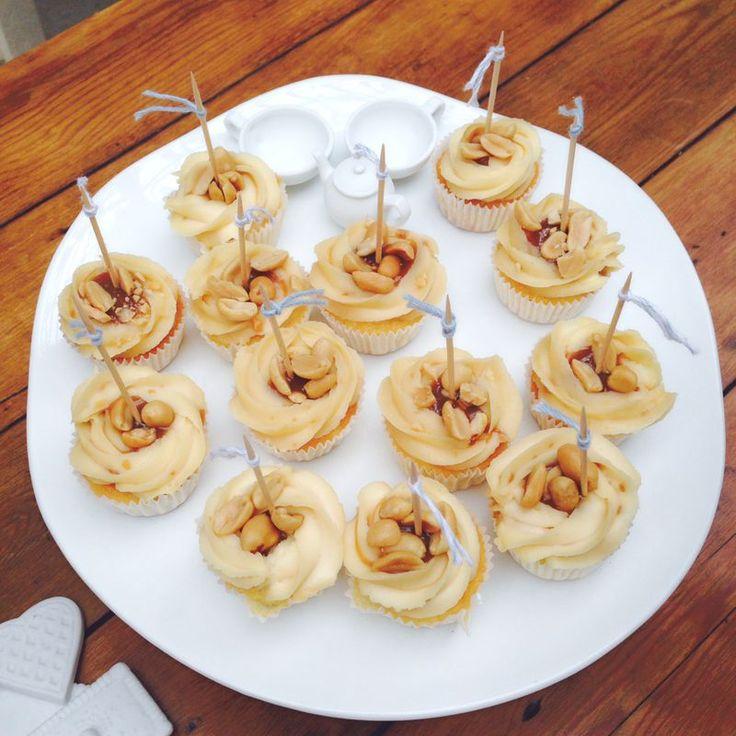 Toertchenzeit Karamell Cupcakes Erdnuss