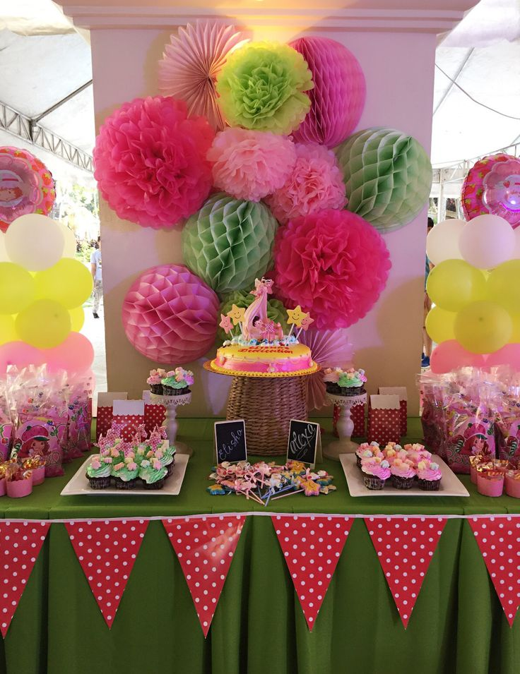 Strawberry Shortcake inspired table set up & 7 best Styling Projects images on Pinterest | 7th birthday Birthday ...
