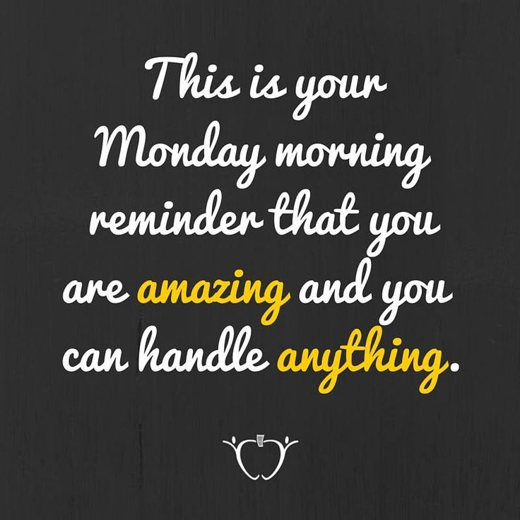 In case you needed a reminder...We got you. #MondayMotivation