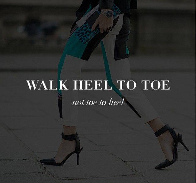 7 Tricks to Walk Gracefully in High Heels