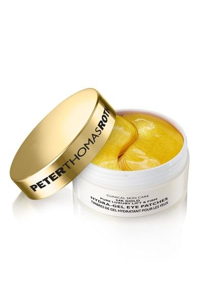 Peter Thomas Roth 24K Gold Lift & Firm Hydra-Gel Eye Patches  | *Disclosure: This is an affiliate link. This means that if you purchase an item or items through this link, you won't pay a penny more, but we will earn a commission for the influence of the sale.
