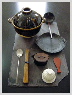 Traditional kitchen tool of Japan.