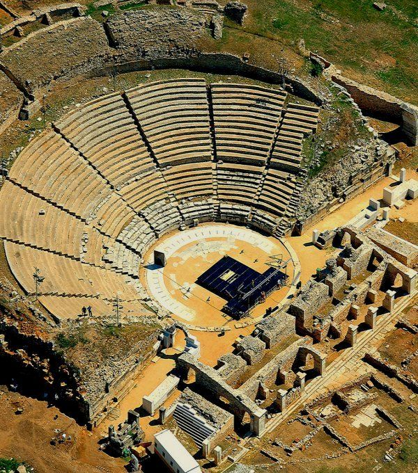 an overview of ancient greek theater architecture Ancient greeks: arts and theatre explore timelines  there were three styles or orders of columns in greek architecture: called doric, ionic and corinthian.