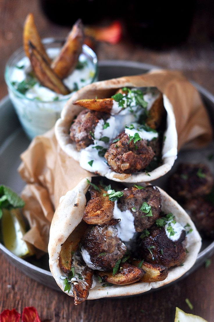 These lamb meatball pitas with tzatziki are my new ultimate, favourite sandwich to share with you! The sandwiches are loaded with crispy, garlicky and lemony potatoes, spicy lamb meatballs and then topped with a refreshing mint tzatziki for a seriously addicting pita.   Bite into these and let the juices drip down your chin while...Read More »