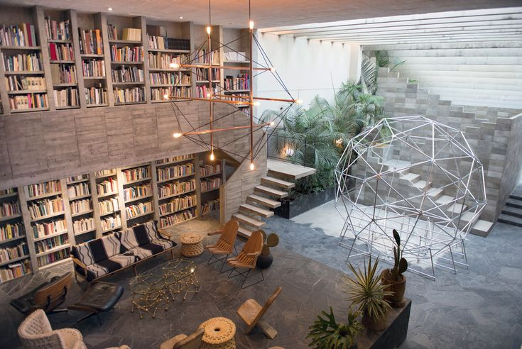 This is a dwelling for the caveman of the future; the ruins of a civilization, now extinct, which was more advanced than the one we're living in now,' explains Mexican artist Pedro Reyes. He's referring to the house he's built with his wife, fashion de...