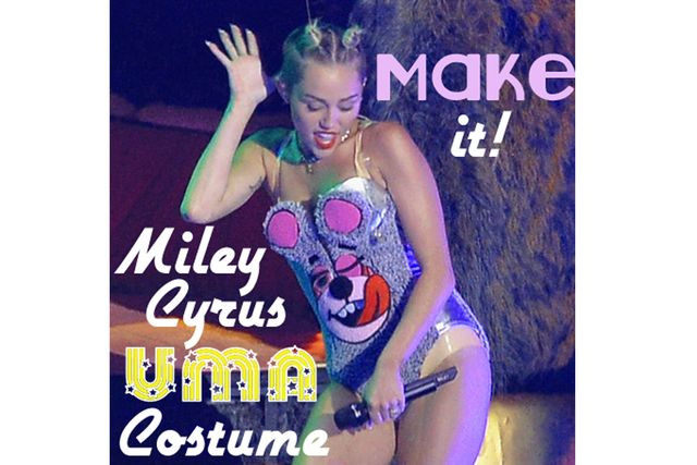 Create your own Miley Cyrus VMA cosutme with Rain's Easy Tutorial.