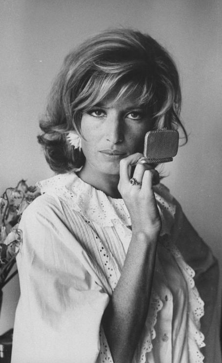 Italian Actress and Michelangelo Antonioni musa Monica Vitti