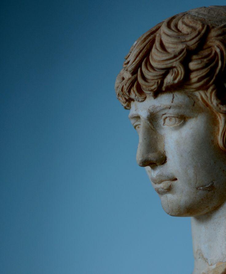 Antinous. Lover of emperor Handrian. Elefsina Museum, Attica, Greece