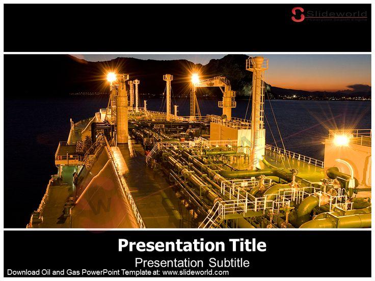 20 best business powerpoint templates images on pinterest business download oil and gas powerpoint template at httpslideworld toneelgroepblik Gallery