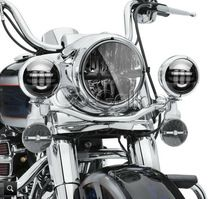 """7 """"LED Projecteur Daymaker Phare + Auxiliaire Lumières Fit Harley Softail Electra Glide Road King/Yamaha Royal Star 1300(China (Mainland))"""
