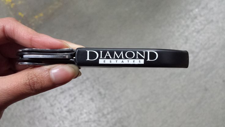 Custom branded corkscrew for Diamond Estates -- contact sales@cuisivin.com for branding quotes